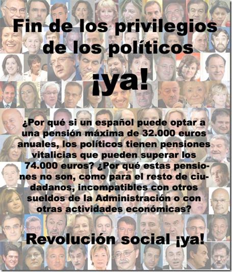 Fin de privilegios a los politicos- EL CRISOL DE LA CORDURA